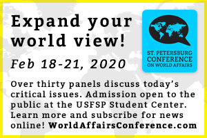 St. Pete Conference on World! Affairs - Expand Your World View!