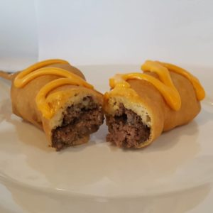 Cheeseburger On-A-Stick.