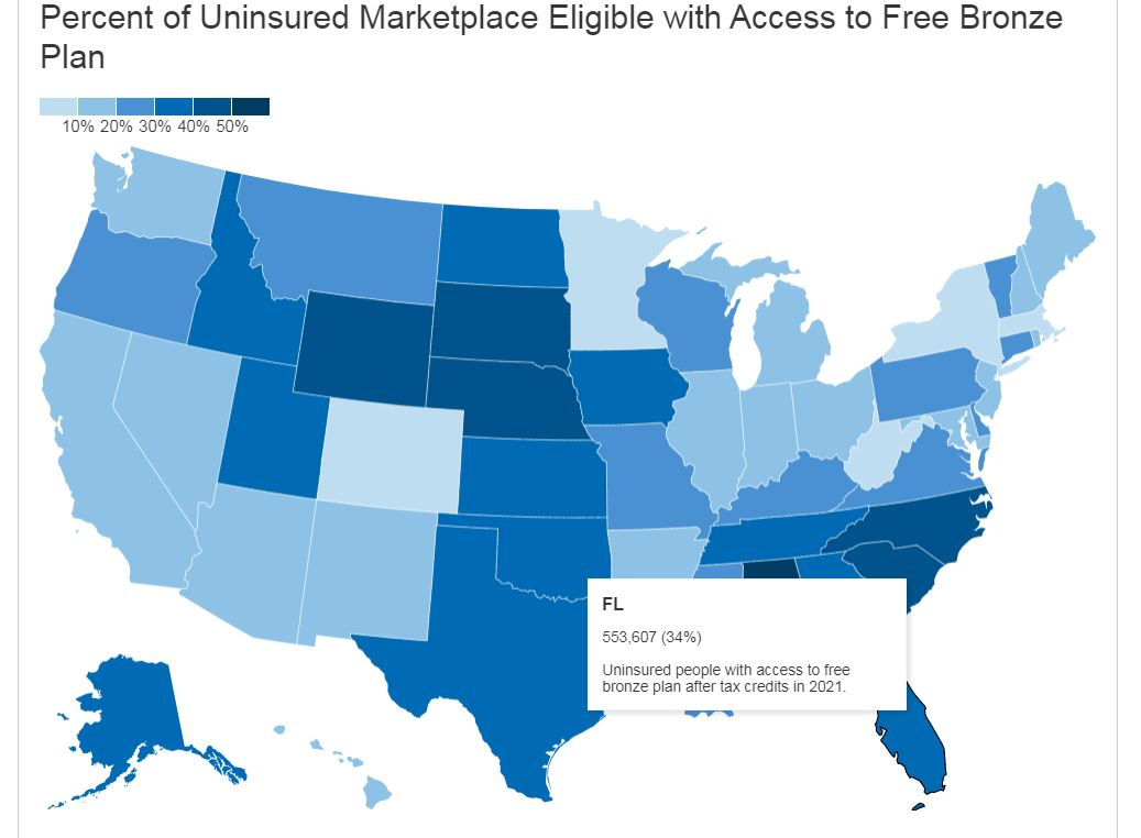 500k Floridians Could Get Free Health Insurance As Special Enrollment Begins Wusf Public Media Tampa Npr Local News Coverage